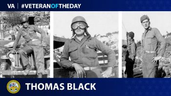 Army Veteran Thomas O. Black is today's Veteran of the Day.