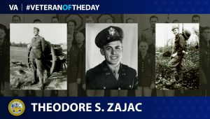 Army Veteran Theodore S. Zajac is today's Veteran of the Day.