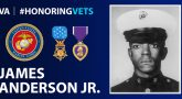 """PFC Anderson was a product of our world, and our society. He was a member of a generation that is seeking and questioning the contribution an individual can make in our society. He was also a member of a race which is seeking its rightful place in society."" -Secretary of the Navy Paul R. Ignatius"