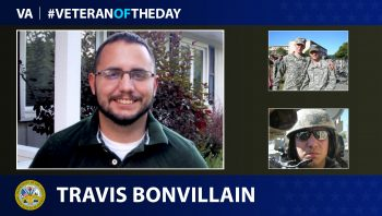 Army Veteran Travis A. Bonvillain is today's Veteran of the day.