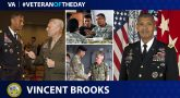 Army Veteran Vincent K. Brooks is today's Veteran of the day.