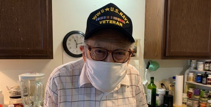 WWII Veteran Hobart Balaton has a place to call his own, thanks to the caring staff at the VA Western New York and the HUD-VASH program.