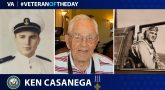 Navy Veteran Ken Casanega is today's Veteran of the day.