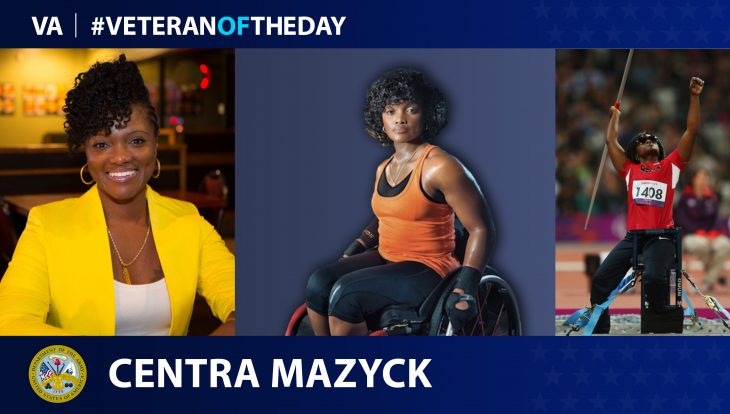 "Veteran of the Day...Centra ""Cece"" Mazyck"