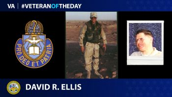 Army Veteran David Roy Ellis is today's Veteran of the day.