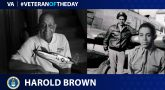 Air Force Veteran Harold H. Brown is today's Veteran of the day.