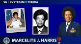 Air Force Veteran Marcelite J. Harris is today's Veteran of the day.