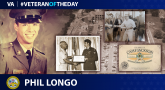 #VeteranOfTheDay Army Veteran Phil Longo