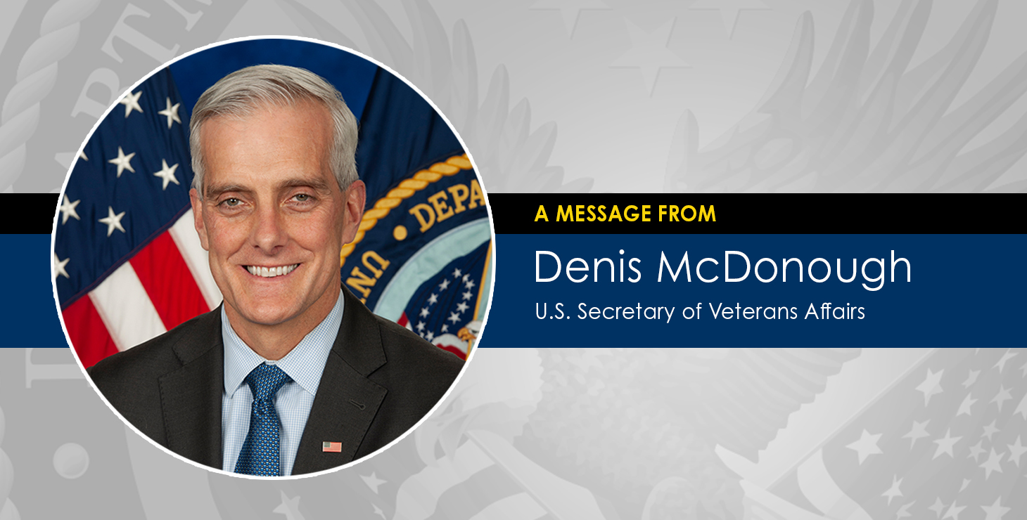 A note to America's Veterans, their families, survivors on the situation in Afghanistan from VA Secretary Denis McDonough.