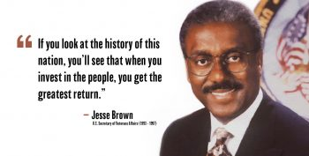 VA Secretary Jesse Brown legacy
