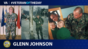 Army Veteran Glenn Johnson is today's Veteran of the Day.