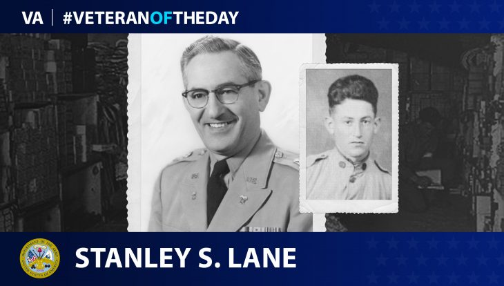 Army Veteran Stanley Lane is today's Veteran of the day.