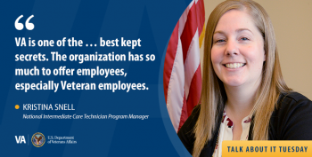 Learn about VA Careers opportunities for transitioning military personnel.