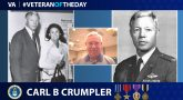 Air Force Veteran Carl B. Crumpler is today's Veteran of the day.