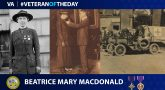 Army Veteran Beatrice Mary MacDonald is today's Veteran of the day.
