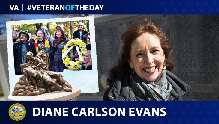 Army Veteran Diane Carlson is today's Veteran of the day.
