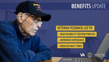 VBA is improving its processes based on Veteran feedback.