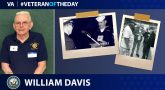 Navy Veteran William Davis is today's Veteran of the day.