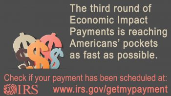 irs graphic economic stimulus payment