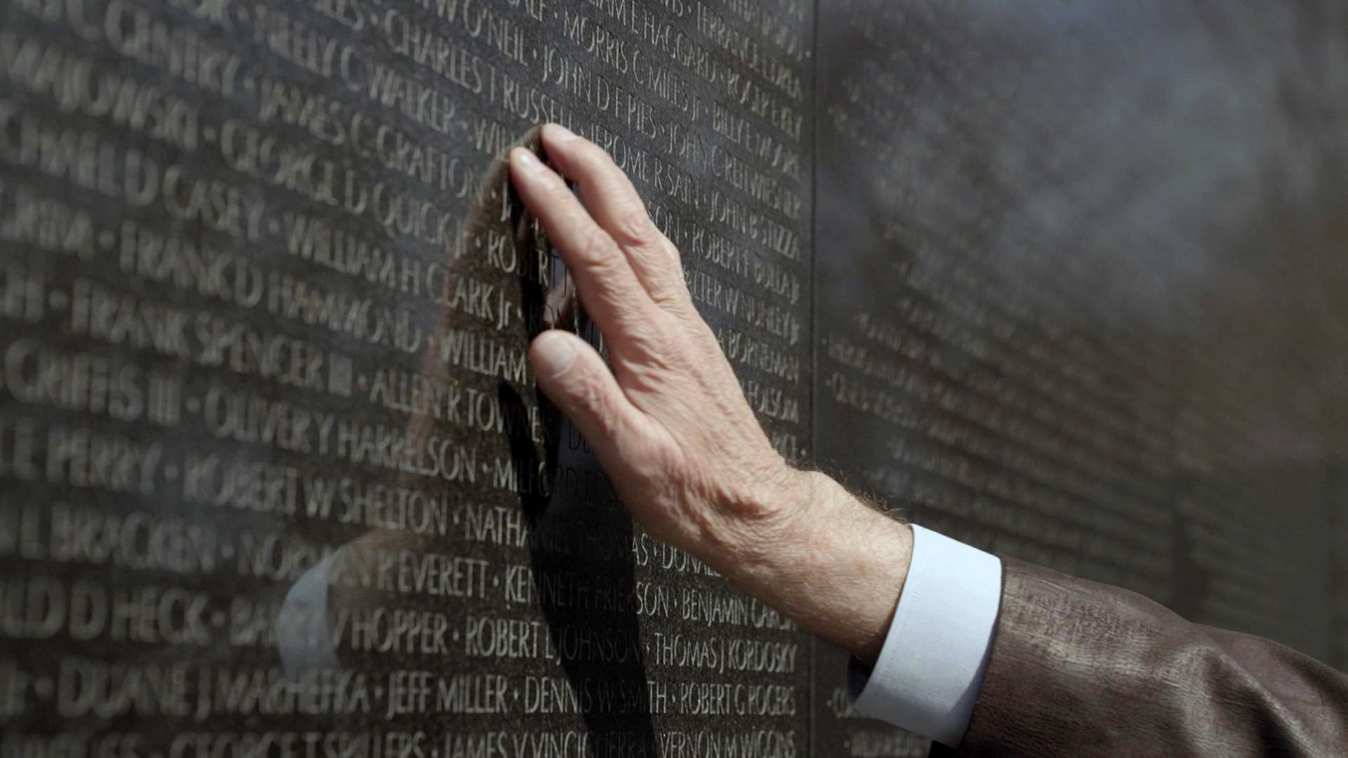 While the Vietnam Veterans Memorial and names provide an obvious visual reminder, Army Veteran Jan Scruggs wants people to know the story behind the memorial.