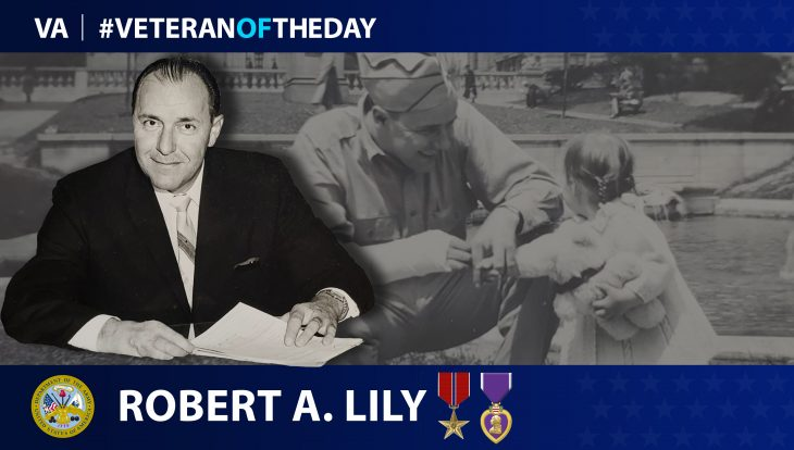 Army Veteran Robert Allen Lilly is today's Veteran of the day.