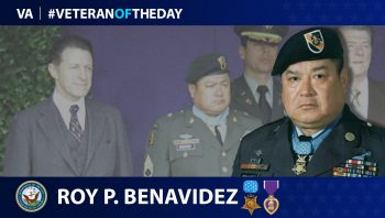 Army Veteran Roy Perez Benavidez is today's Veteran of the day.