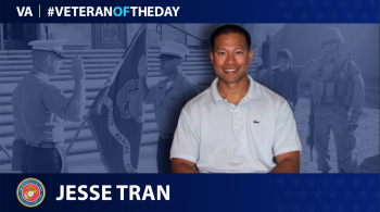 Marine Corps Veteran Jesse Tran is today's Veteran of the day.