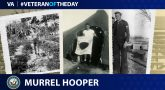 Navy Veteran Murrell Hooper is today's Veteran of the day.