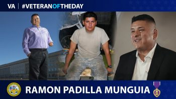 Army Veteran Ramon Padilla Munguia is today's Veteran of the day.