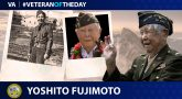 Army Veteran Yoshito Fujimoto is today's Veteran of the day.