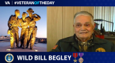 Air Force Veteran Wild Bill Begley is today's Veteran of the day.