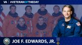 Navy Veteran Joe Frank Edwards Jr. is today's Veteran of the day.