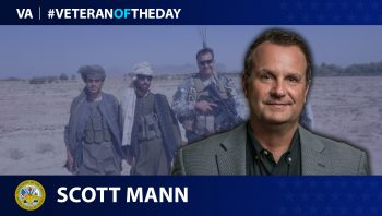 Army Veteran Scott Mann is today's Veteran of the day.