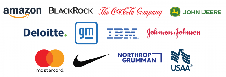 americas corporate partnership sponsor logos