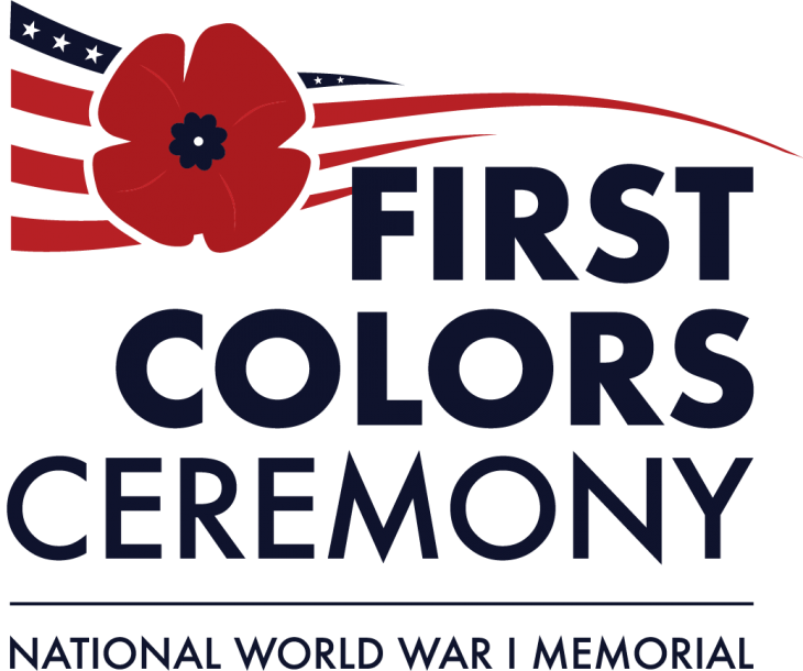 Graphic of First Colors ceremony