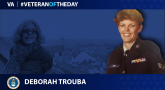 Air Force Veteran Deborah Trouba is today's Veteran of the day.