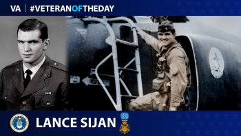 Air Force Veteran Lance P. Sijan is today's Veteran of the day.