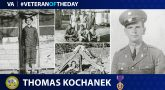 Army Veteran Thomas H. Kochanek is today's Veteran of the day.