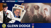 Army Veteran Glenn Dodge is today's Veteran of the day.
