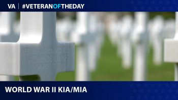 World War II killed in action and missing in action are the Veterans of the day.