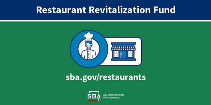 The Restaurant Revitalization Fund applications open May 3.