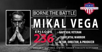 Actor Mikal Vega is a Navy Seal Veteran