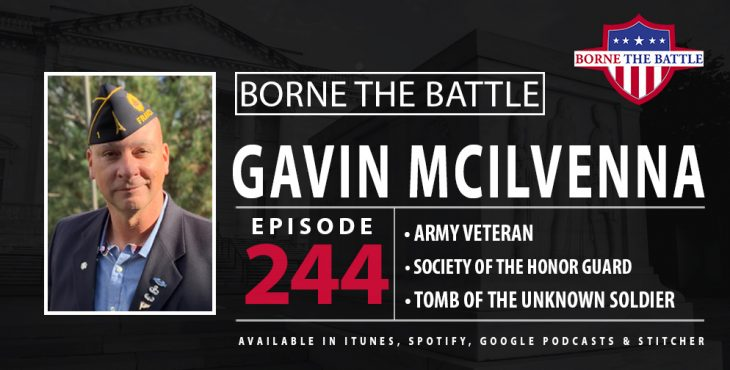 Gavin McIlvenna and the Tomb of the Unknown Soldier