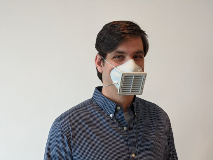 Brian Strzelecki, a research engineer and 3D printing specialist at VA Puget Sound, co-authored the VA study that evaluated how well the 3D masks perform.