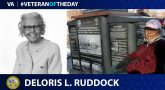 Army Veteran Deloris Ruddock is today's Veteran of the day.