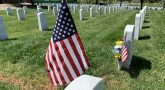 Flag at Culpeper National Cemetery.