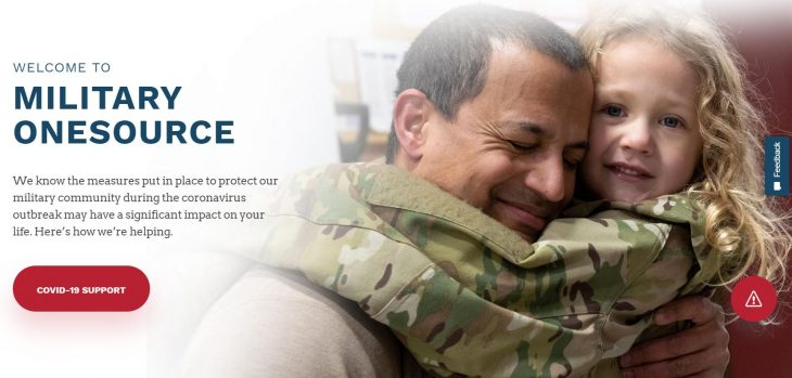 Military OneSource provides resources.