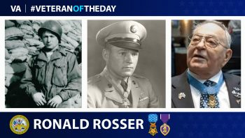 Army Veteran Ronald Rosser is today's Veteran of the day.