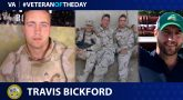 Army Veteran Travis Bickford is today's Veteran of the day.