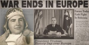 On May 8, 1945, then-Army Air Forces pilot Warren Halstead was at his duty station, when the news came in: the war in Europe was over.